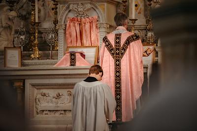 _NIK1581 Lent St  Peters Steubs LatinMass  Laetere