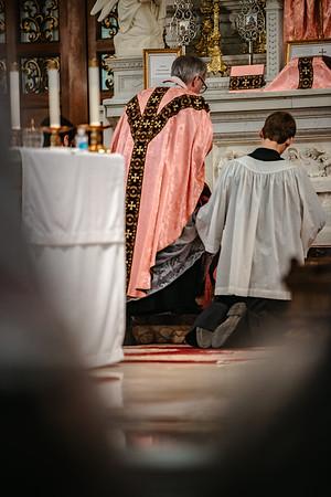 _NIK1514 Lent St  Peters Steubs LatinMass  Laetere