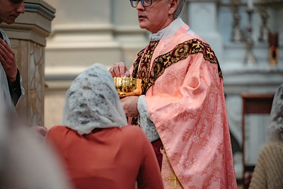 _NIK1553 Lent St  Peters Steubs LatinMass  Laetere