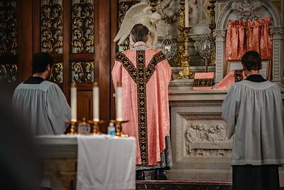 _NIK1519 Lent St  Peters Steubs LatinMass  Laetere