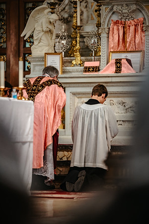 _NIK1512 Lent St  Peters Steubs LatinMass  Laetere