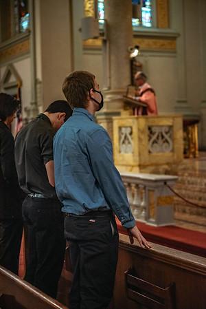 _NIK1521 Lent St  Peters Steubs LatinMass  Laetere