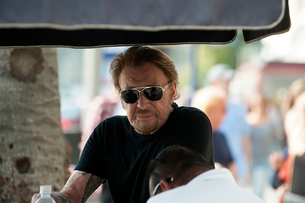 Johnny Hallyday Celebrates Laeticia's Birthday