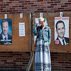 Laeticia Hallyday votes for the French Election