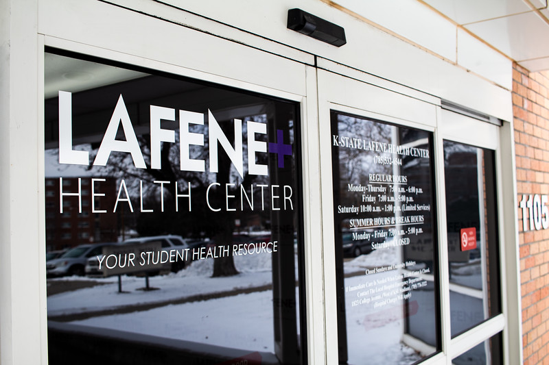 Lafene Health Center offers affordable medical care along with other services to students, faculty and staff of Kansas State University. (Katelin Woods | Collegian Media Group)