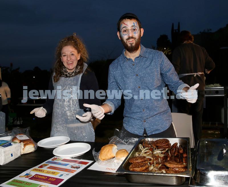 Lag B'Omer at Chabad North Shore. Pic Noel Kessel.