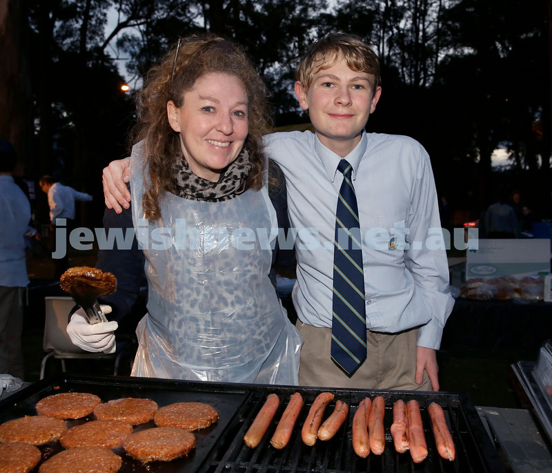 Lag B'Omer at North Shore Chabad. Pic Noel Kessel.