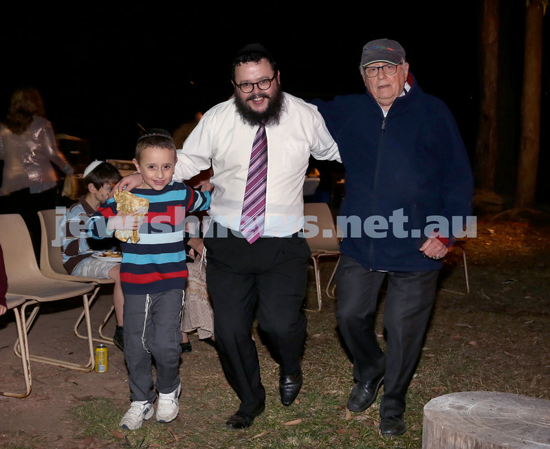 Lag B'Omer at Chabad North Shore. Pic Noel Kessel.