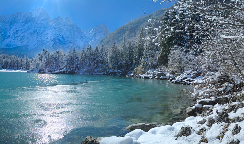 Secondo lago di Fusine - foto n° 251003-386770