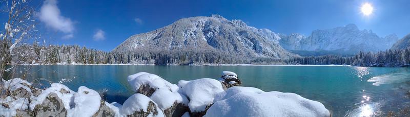 Secondo lago di Fusine - foto n° 251003-391023