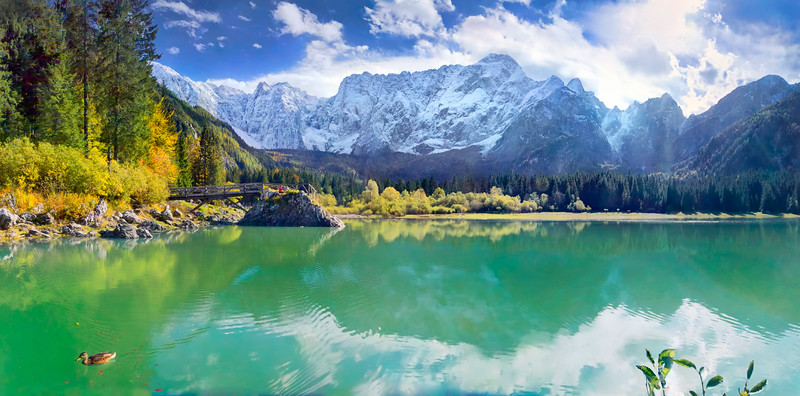 Secondo lago di Fusine - foto n° 061003-244753