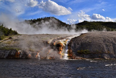 Headwaters of the Firehole River