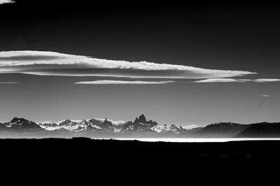 Lago Strobel in Patagonia