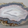 "#0629 Laguna Agate, Estacion Ojo Laguna, Chihuahua, Mexico<br /> A perfect agate. <br /> 4 1/2 x 2 1/4 x 1 3/4"" 0.74 lb<br /> All agates in the sample galleries have been SOLD."