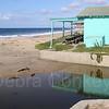 Shack & reflection, Crystal Cove, Laguna Beach, California