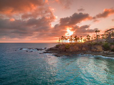 Shaws Cove Sunset