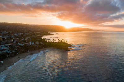 Sunrise at Crescent Bay