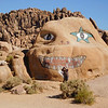Oh, no, the Alabama Hills monster is eating May Gee alive