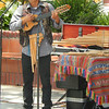 Saw the singer at Union Station Square.  The concert photographer in me just can't help taking this shot.