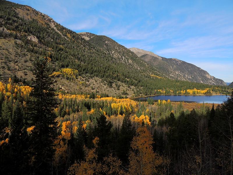 Alpine Reservoir, Chalk Creek, Sawatch Range, Colorao
