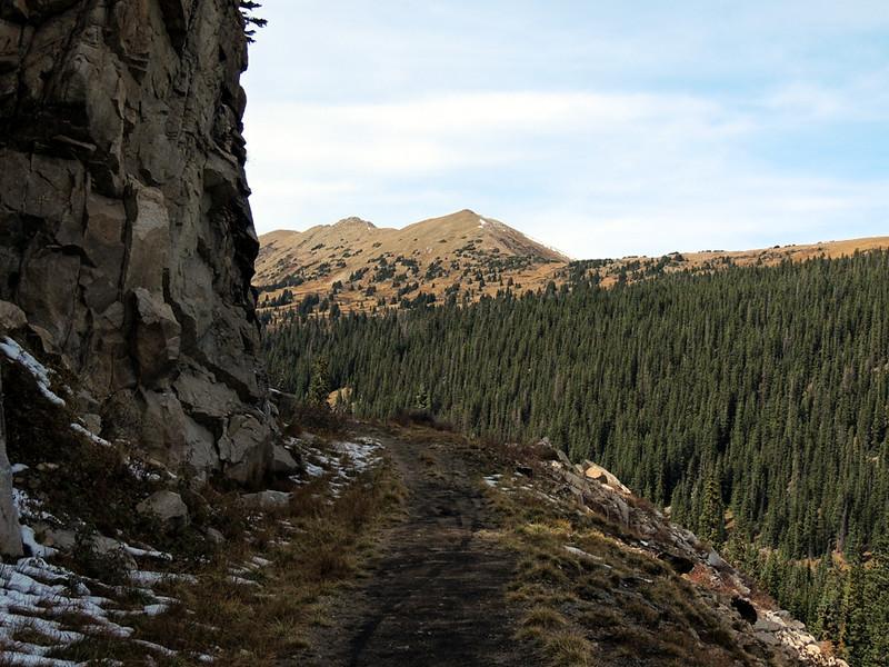 Alpine Tunnel rail grade, Sawatch Range, Colorado