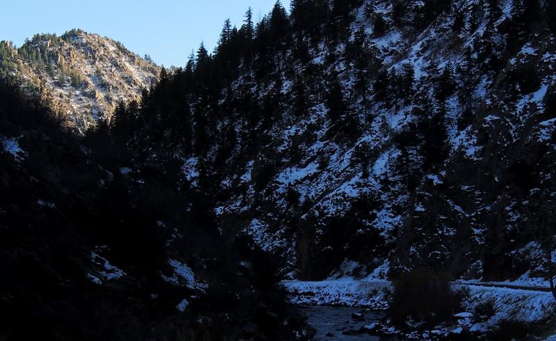 The narrows, Waterton Canyon