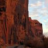 Wallstreet climbing area, Potash Road, Moab, Utah