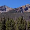 L to R: Tenmile Peak (12,933 ft) and Peak 1 (12,805 ft), Peaks Trail, Frisco, Colorado