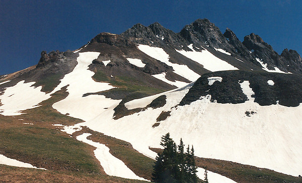 At 13,411 feet, the Heisshorn ranks in at number 312; Big Blue Wilderness, San Juan Mountains, Colorado.