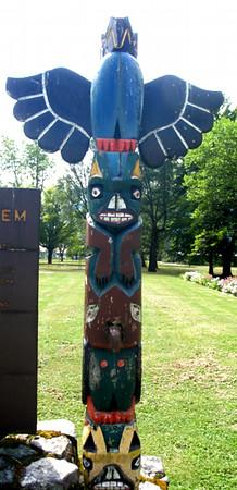 Totem Pole, Newhalem, WA