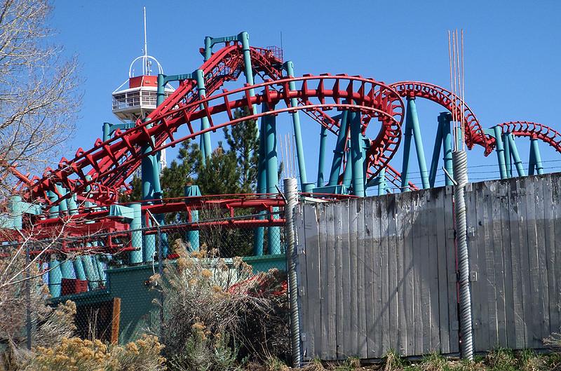 The Mind Eraser, Elich Gardens Amusement Park, Denver, Colorado