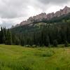 Turret Ridge, West Fork Cimarron River, Colorado