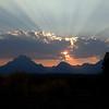 Teton Range sunset