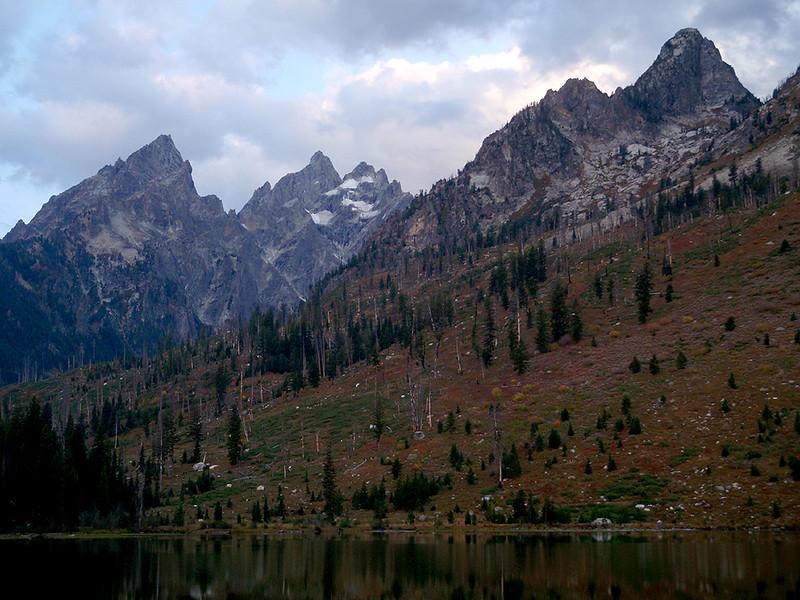 Grand Teton from String Lake