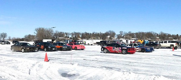 Today's field of race cars...two classes.