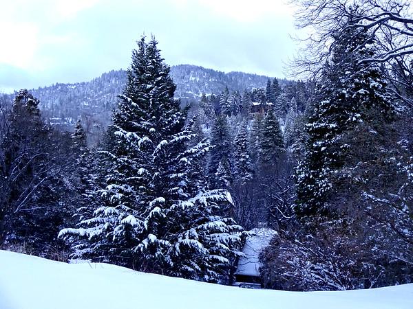Lake Arrowhead Snow Photos February 2018