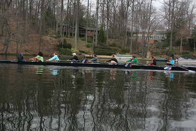 Lake Barcroft Practice Day 2 womens team