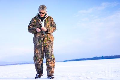 Ice Fishing | Lake Champlain | Jan 2014