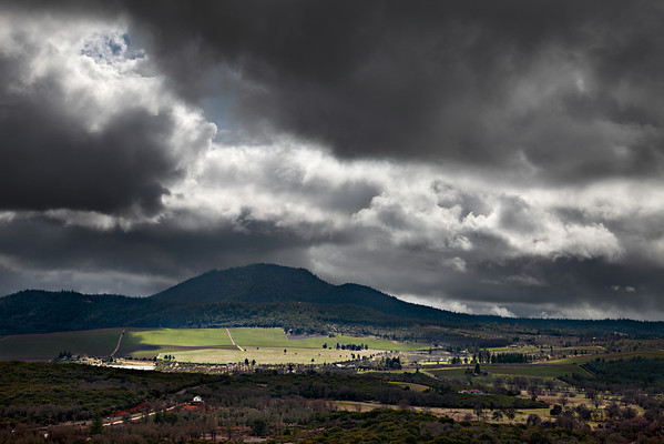Storm Break over Mt. Hannah