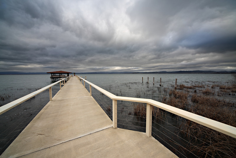 ~ Pier at Ceago Winery ~