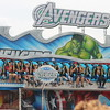 Kristi Garabrandt - The News-Herald<br /> Fairgoers enjoy the Avengers theme ride at the Lake County Fair.