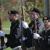 Kristi Garabrandt — The News-Herald <br> Members from Mentor VFW post 9295 prepare for a 21 gun salute during Mentor's Veterans Day Program.