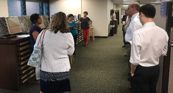 REALTORS® learned about the job of Recorder of Deeds Mary Ellen Vanderventer and her staff.