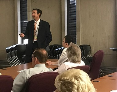 Circuit Judge Daniel Jasica talked about the eviction process in Lake County.