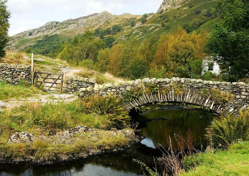 Watendlath Bridge Cumbria