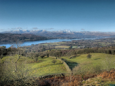 Windermere, from Black Cragg
