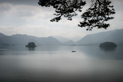 Looking into the Jaws of Borrowdale, Derwentwater