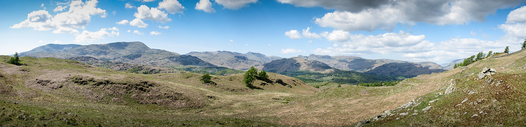 View from Black Cragg