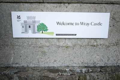 Wray Castle,  National Trust, Cumbria