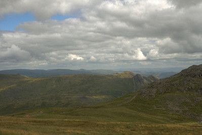 Langdale Pikes from Esk Hause